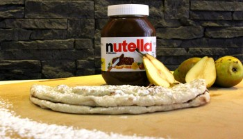 PIZZA NUTELLA POIRE
