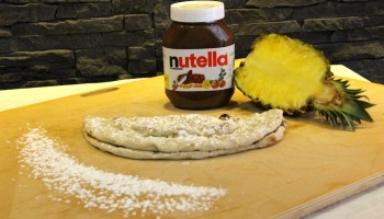 PIZZA NUTELLA ANANAS